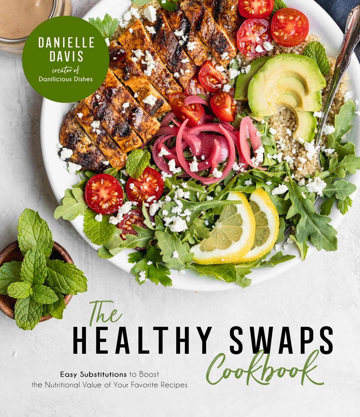 healthy swaps cookbook cover