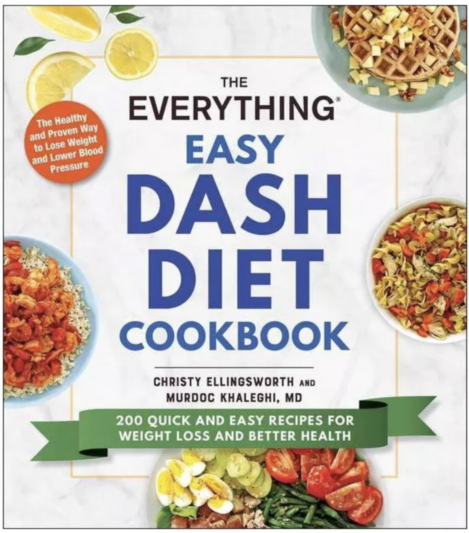The everything easy dash diet cookbook cover
