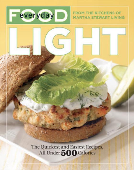 everyday food light cookbook cover